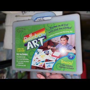 Rainbow art kit
